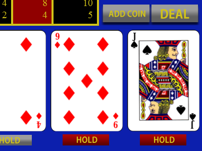 Upps das Bild JACKS OR BETTER VIDEO POKER fehlt.